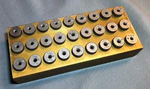 OD Drill Bushing 27 Piece Set Kit OD Drill Bushings Now Laser Engraved