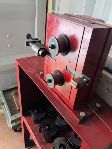 This is a Recent Photo of the Aircraft Cable Swager Machine Kit