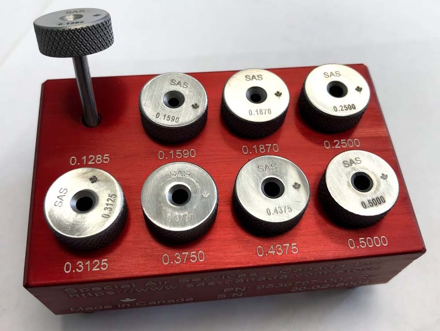 OD Drill Bushing Set (8 Piece)